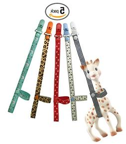 SmarToys Sophie The Giraffe Toy Harness Strap Saver Sitter C