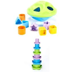 Green Toys Sorting and Stacking Bundle
