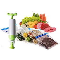 Sous Vide Bags-Vacuum Sealer with Hand Pump,Food Saver Vacuu
