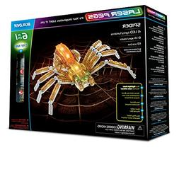 Laser Pegs Spider 6-in-1 Building Set; The First Lighted Con