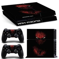 The Amazing Spider Man Skin Sticker Set for PS4 Playstation