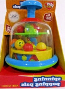 Spinning Popping Pals by Play Right Age 12 mo+ Spin & Pop fo