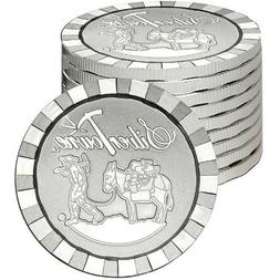 SilverTowne Stackable Prospector Silver Rounds