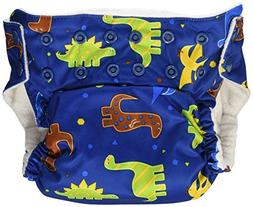 Imagine Baby Products Stay Dry All-In-One Snap Diaper, Rawr
