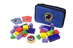 Blocks Rock! A STEM Toy and Educational Game for Competitive