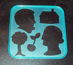 Tupperware Stencil Art Replacement President's Day Holiday T