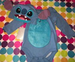 Disney Stitch Costume Bodysuit Set for Baby 9-12 MO Lilo and