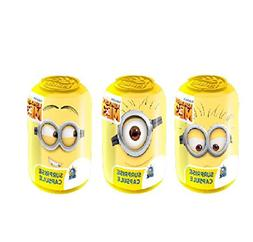 """Set of 3 Super Surprise capsule """"Minions"""" with puzzle and 3d"""