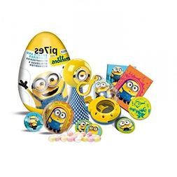 """Super Surprise eggs """"Minions"""" with puzzle and 3d card from c"""