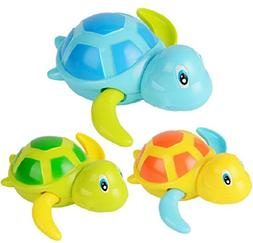 Swimming Turtle Bath Toys Tub Pool Toy Cute Wind Up Turtle A