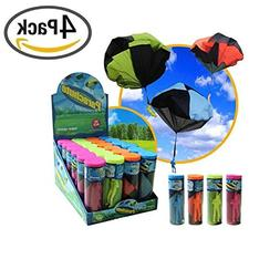 Joanna Reid Tangle Free Throwing Toy Parachute(4 Pack)