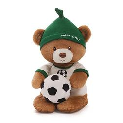 Gund Baby Teddy Bear and Rattle, Little Kicker Soccer