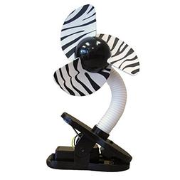 Tee-Zed Clip-On Fan Great for the Beach, Pool, Camping, Work