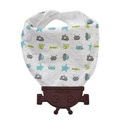Corewill Baby Teether Drool Bibs Absorbent 100% Cotton with