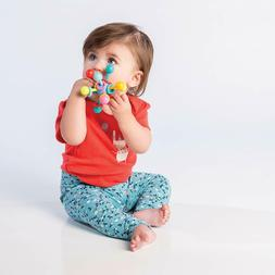 Teether Toy For Baby Soft Atom Rattle Grasping Activity Kids