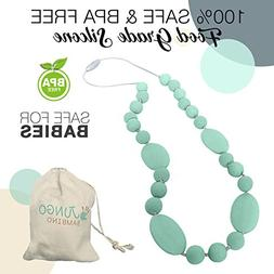 JUNGO BAMBINO Teething Silicon Necklace Chewlery For Nursing