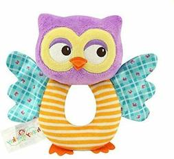 Teytoy Owl Soft Rattle Toy For Over 0 Months Toys Games New