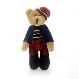 Boyds TF Wuzzies Timothy F Wuzzle Soldier Teddy Bear Jointed