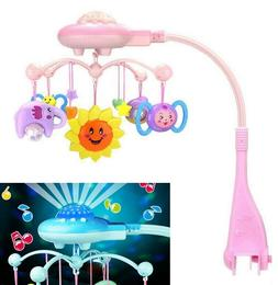 Toddler Baby Mobile Crib Windup Rotating Music Machine Toy S