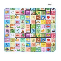 Wakrays New Baby Kid Toddler Crawl Play Game Letter Alphabet
