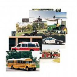Stages Learning Materials Toddler Education Vehicles Posters