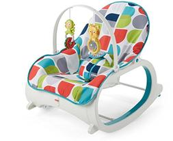 Fisher-Price Infant-to-Toddler Rocker, Geo Curve Multicolor