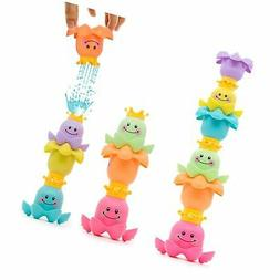 Yansion Baby Stacking Bath Toys Nesting Cups Toddler Water P
