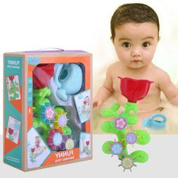 Toddlers Babies Spin Waterfall Station W/ Strong Suction Cup