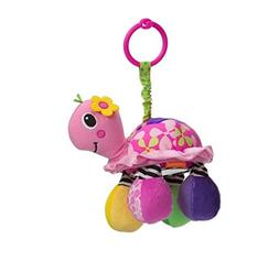 Infantino Topsy Turtle Mirror Pal, Pink by Infantino