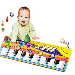 Usstore Kid Baby Child Touch Play Keyboard Musical Music Sin