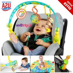 Toy Arch Baby Stroller Crib Activity Educational Seat Travel