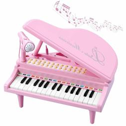 Toy Piano for Kids Birthday Gift for 3 4 5 6 Year Old Girl E