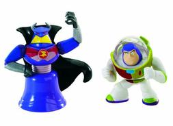 Toy Story Color Splash Buddies Zurg and Iconic Buzz 2-Pack