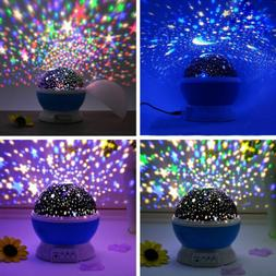 TOYS FOR 2-10 Year Old Kids LED Night Light Xmas Gift Star M