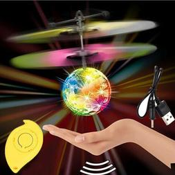 Toys for Girls 3 4 5 6 7 8 9 10 Year Old Flying Ball LED Fla