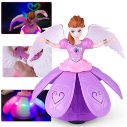Toys For Girls LED Robot Dance Doll 2 3 4 5 6 7 8 9 Year Age