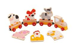 Sevi Train Wooden Shapes Push and Pull  by Sevi