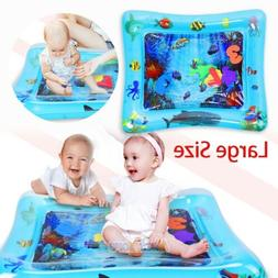 Tummy Time Baby Water Mat Infant Slapped Toys Inflatable Pla