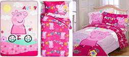 Peppa Pig Girls Twin Bedding Collection
