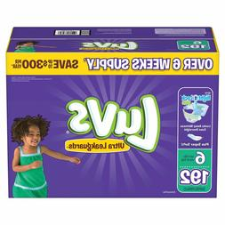 Luvs Ultra Leakguards Diapers Size 6 - 192Ct. for babies wei