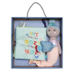 Manhattan Toy Under the Sea Soft Book with Mermaid Soft Doll