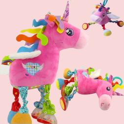 Unicorn Baby Car Pram Stroller Bed Hanging Pendant Toys Soft
