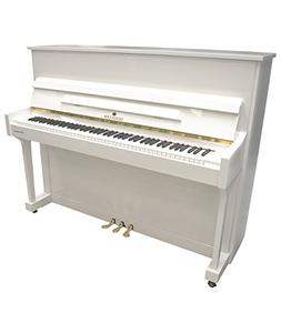 "Schiller Upright Piano Special Edition 45"" - White Polish to"