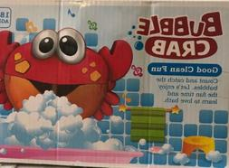 US Machine Big Crab Automatic Bubble Maker Gift Blower Music