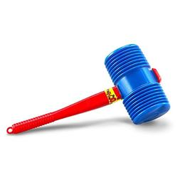 US Toy One Giant Squeaky Circus Carnival Clown Hammer Assort