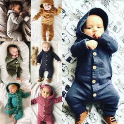 usstock winter infant baby boy girl cotton