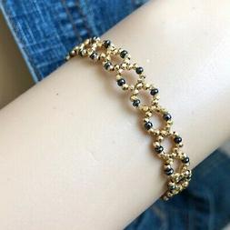 Very Cute 14K Yellow Gold Bangle Bracelet  for girl or baby