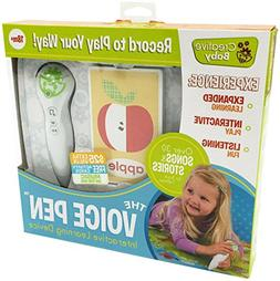 Creative Baby Voice Pen with Interactive Flash Cards