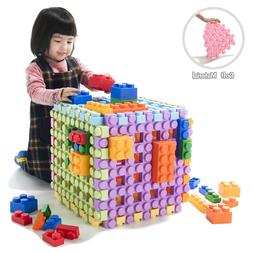 UNiPLAY Waffle Play Soft Building Blocks for Ages 3 Months &