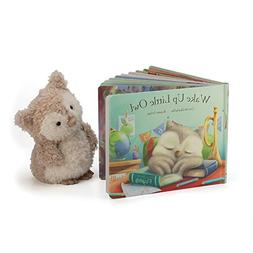 Jellycat Wake Up Little Owl Board Book and Little Owl Toy